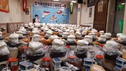 توزیع ۲۵۰ بسته معیشتی میان خانواده های نیازمند به همت جهادی ها