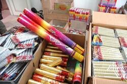 کشف بیش از ۱۰ هزار مواد محترقه در نظرآباد