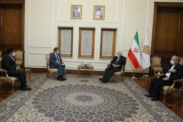 Iran FM, Pakistan envoy discuss developments in Afghanistan