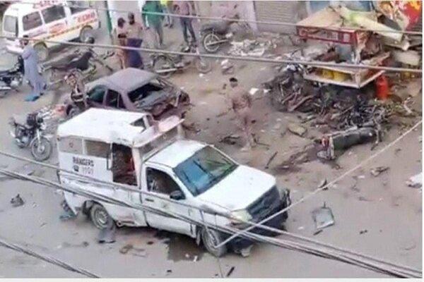 Bomb blast in Pakistan' Karachi claims one life, four injured