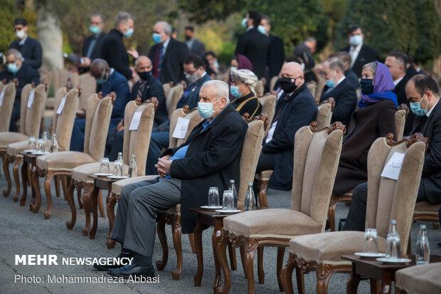 """احتفالية """"نوروز 1400؛ نوروز المحبة"""" في طهران"""