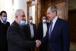 Rusya Dışişleri Bakanı Lavrov, Hizbullah heyetiyle görüştü