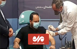 VIDEO: FAKHRA vaccine tested on Martyr Fakhrizadeh son