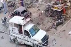 Karachi blast leaves 1 dead, 8 injured