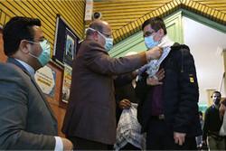 کاروان دانشجویی بسیجیان جهادگر بدرقه شدند