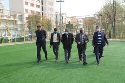 نوسازی ۷ زمین چمن محلی در جنوب شرق تهران