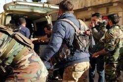 حمله به اتوبوس نیروهای ارتش سوریه در غرب درعا