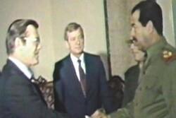 حمایت آمریکا از صدام و تسلیحات شیمیایی رژیم بعث عراق