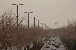 گردو غبار زنجان را فرا می گیرد