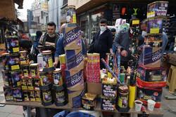 بازار داغ چهارشنبه سوری زیر سایه کرونا