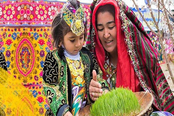 Uzbeks celebrating Persian New Year