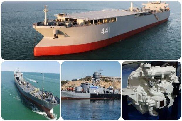 آغاز به کار غولهای نظامی ایران در دریا/۴ دستاورد دریایی در سال۹۹