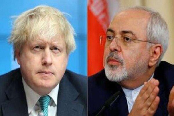 ظريف يرد على رئيس الوزراء البريطاني بشأن ترسانة بريطانيا النووي