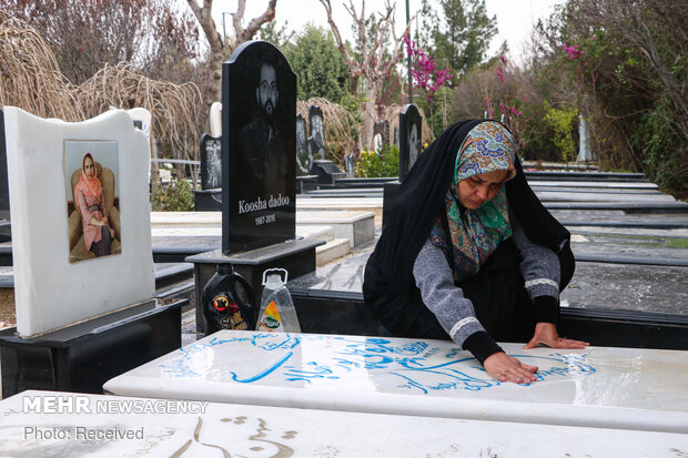 غباروبی مزار جانبخشان آسمانی
