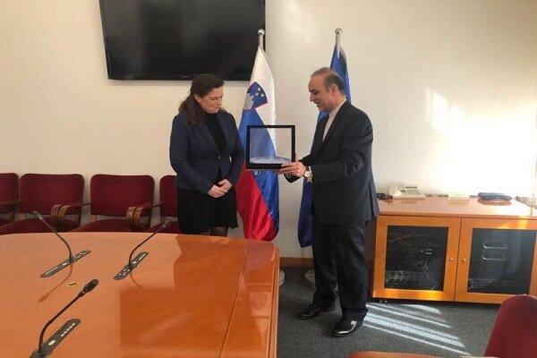US sanctions cut Iran-Slovenia trade volume exchange: Envoy