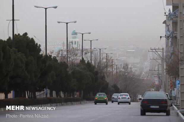 جولان ریزگردها در آسمان اصفهان تا پایان هفته