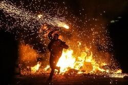 آتش نشانان تبریزی ۲۵ فقره آتشسوزی چهارشنبه سوری را خاموش کردند