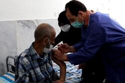 ۱۱۳ سالمند مرکز ثامنالائمه شاهرود واکسن کرونا دریافت کردند
