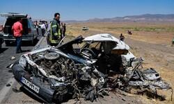 سانحه مرگبار رانندگی در آزاد راه پیامبر اعظم (ص) با ۲ نفر کشته