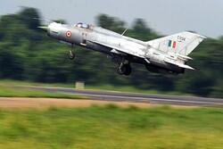 جنگنده میگ-۲۱ هند در ایالت پنجاب سقوط کرد