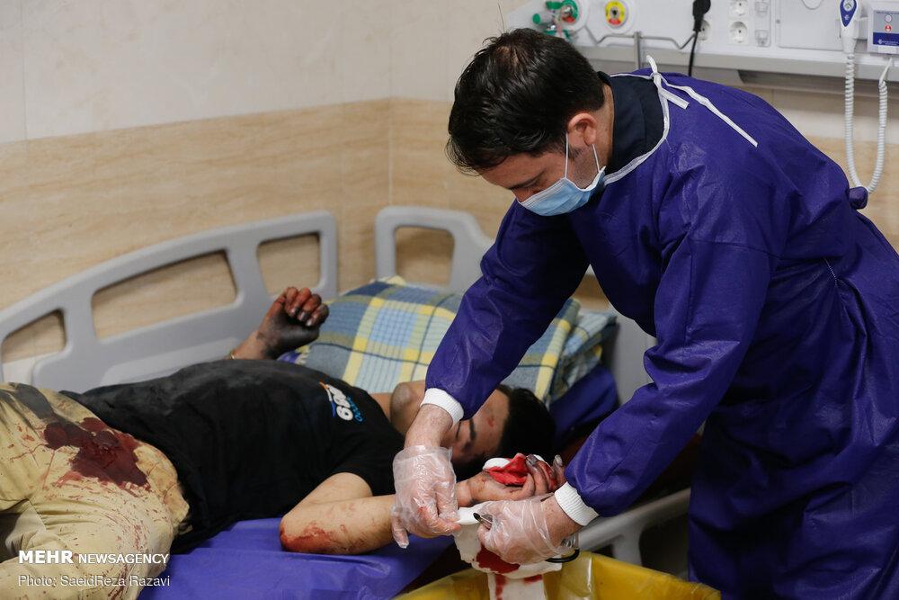 افزایش تعداد مصدومان چهارشنبه سوری در گیلان
