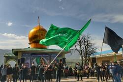 تشییع پیکر مطهر شهید «مجتبی برسنجی» در سوادکوه