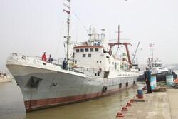 کشتی تحقیقاتی گیلان با ۳۰ میلیارد ریال اعتبار به بهره برداری رسید