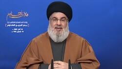 السيد نصر الله: عندما يعجزون أمام المقاومة في لبنان يمكن ان يلجأوا إلى العمل من أجل حرب أهلية