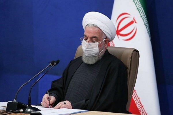 الرئيس روحاني يؤكد على اقامة حوار جماعي وتحقيق منطقة قوية وآمنة
