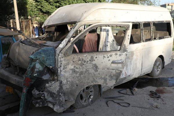 انفجار یک خودرو مقابل مسجد اهل البیت در کابل
