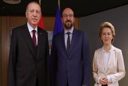 گفتگوی مجازی اردوغان با مقامات ارشد اتحادیهاروپا