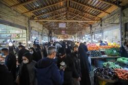 جنب و جوش نوروزی در بازار شب عید در زنجان