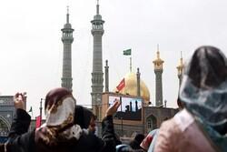 مراسم تحویل سال در آستان مقدس حضرت معصومه(س) مجازی برگزار میشود