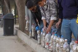 اجرای نمایش خیابانی «فیلتر شکن» در شیراز