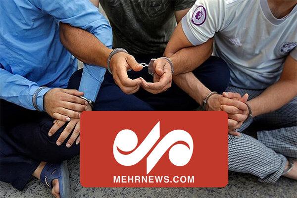 بازداشت جاعلان مدارک تردد کرونا در تهران