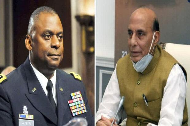امریکی وزیر دفاع کل بھارت کے وزیر دفاع سے ملاقات کریں گے