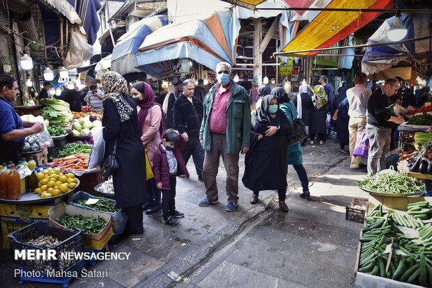 کرونا گردی یک روز مانده به عید -  گرگان