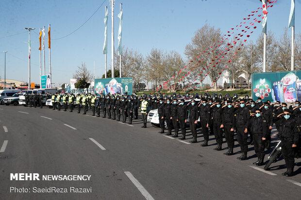 NAJA's Nowruz exercise in Tehran