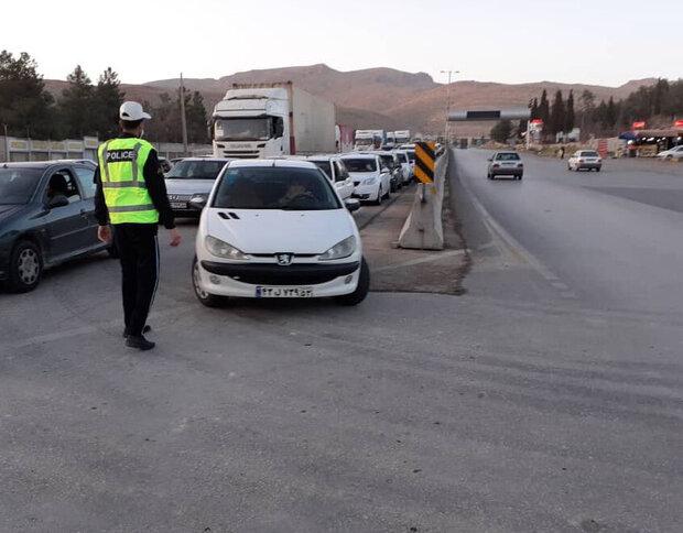 تشدید برخورد با خودروهای پلاک غیربومی در همدان