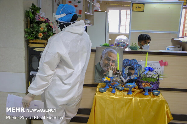 Nowruz with healthcare staff in battle against COVID-19