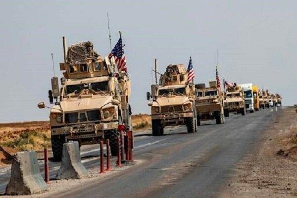 کاروان لجستیکی ارتش آمریکا در الناصریه عراق هدف قرار گرفت