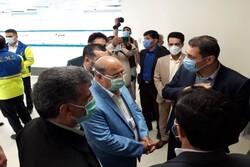 بازدید فرمانده ستاد مقابله با کرونای تهران از مراکز درمانی ورامین