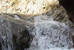 سفری مجازی به آبشار میاب در شهرستان مرند