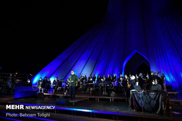 Alireza Ghorbani stages free online concert at Azadi Tower