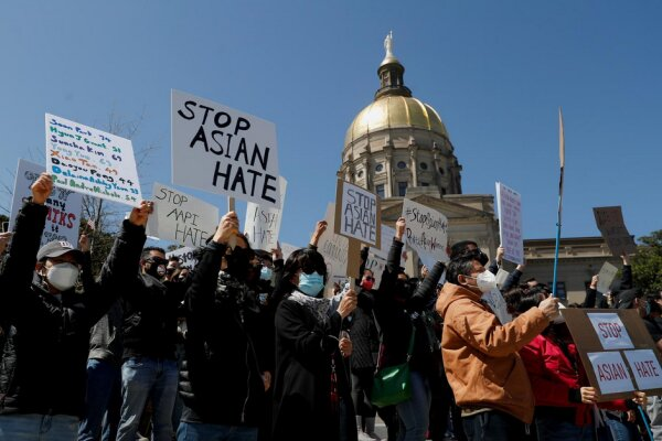 Protesters rally against Asian hate across US