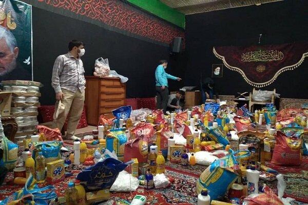 توزیع ۷۰ بسته کمک معیشتی بین خانوادههای نیازمند در کرمانشاه