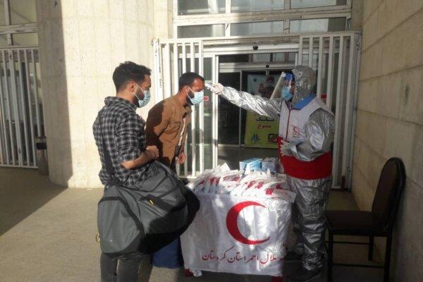 ۳۰۰۰ مسافر در مبادی مرزی آذربایجان غربی غربالگری شد