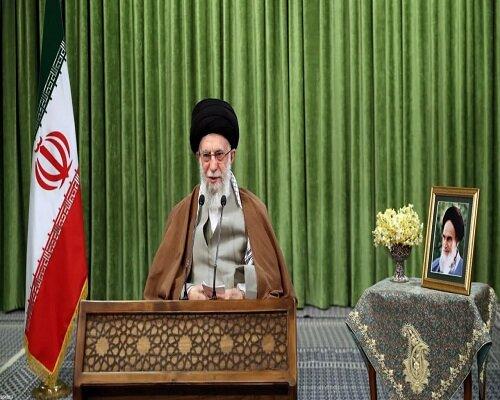 خطاب قائد الثورة الاسلامية بمناسبة حلول العام الهجري الشمسي الجديد