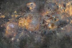 انتشار عکسی از کهکشان راه شیری که تکمیلش ۱۲ سال طول کشید!