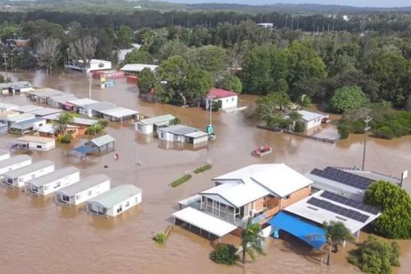 آسٹریلیا میں طوفانی بارشوں اور سیلاب سے 18 ہزار سے زائد افراد بے گھر